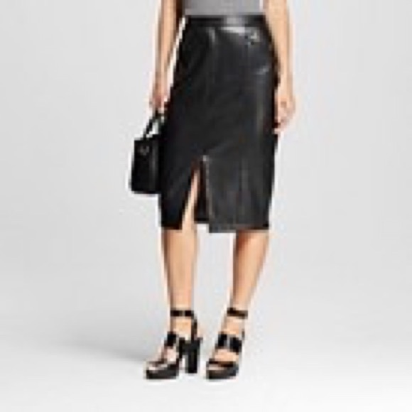 Who What Wear Dresses & Skirts - Faux Leather Skirt by Who What Wear